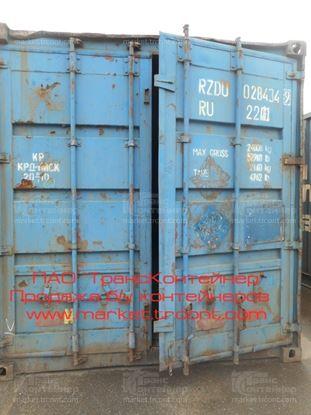 Изображение 20-футовый б/у контейнер №0284349