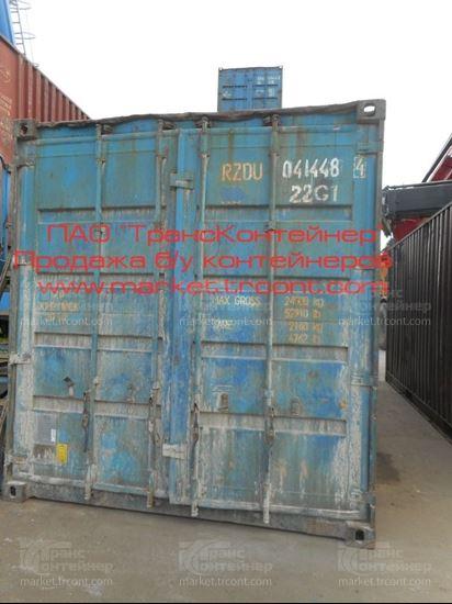 Изображение 20-футовый б/у контейнер №0414484