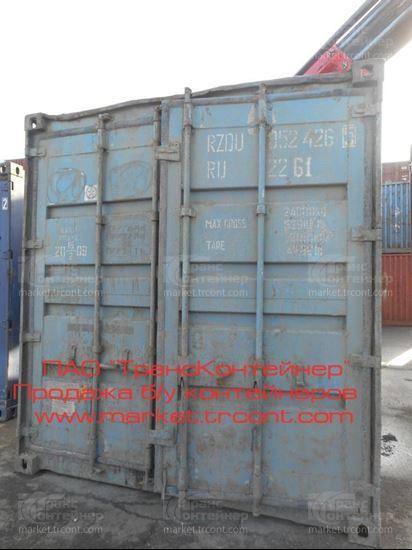 Изображение 20-футовый б/у контейнер №0524265
