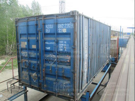 Изображение 20-футовый б/у контейнер №0622209