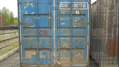 Изображение 20-футовый б/у контейнер №0202736