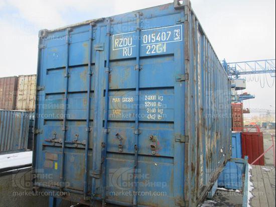 Изображение 20-футовый б/у контейнер №0154073