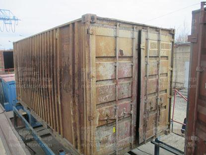 Изображение 20-футовый б/у контейнер №0066959