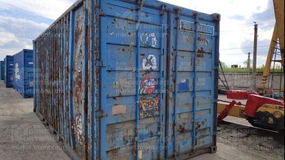 Изображение 20-футовый б/у контейнер №0574522