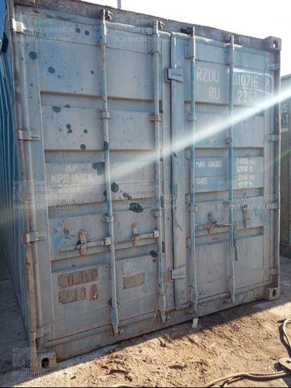 Изображение 20-футовый б/у контейнер №0107169