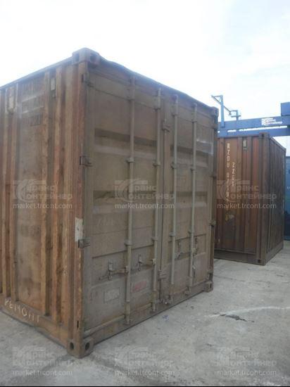 Изображение 20-футовый б/у контейнер №0417354