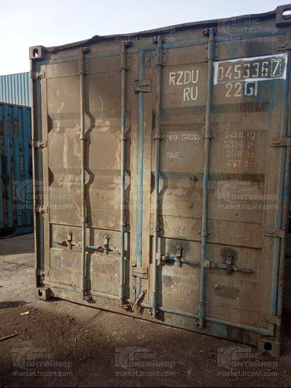 Изображение 20-футовый б/у контейнер №0453367