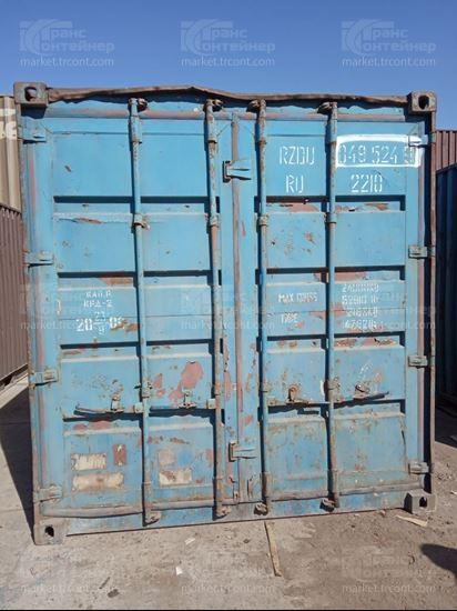 Изображение 20-футовый б/у контейнер №0495249