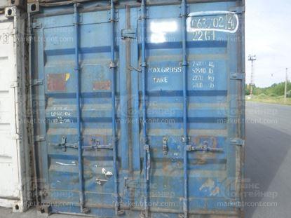 Изображение 20-футовый б/у контейнер №0637024