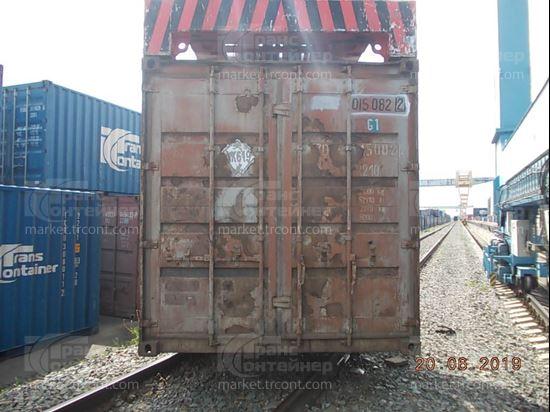 Изображение 20-футовый б/у контейнер №0150822