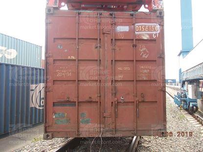 Изображение 20-футовый б/у контейнер №0158150