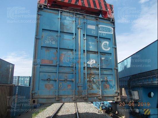Изображение 20-футовый б/у контейнер №0184735