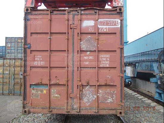 Изображение 20-футовый б/у контейнер №0225979