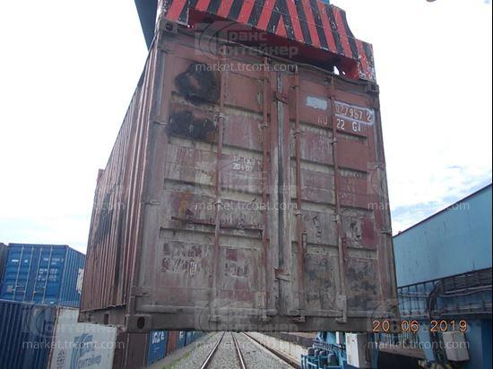 Изображение 20-футовый б/у контейнер №0279872