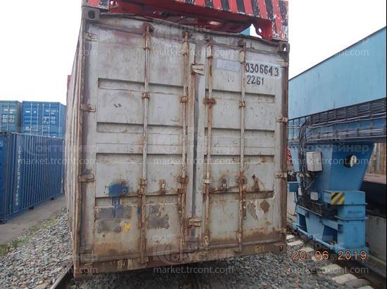 Изображение 20-футовый б/у контейнер №0306643