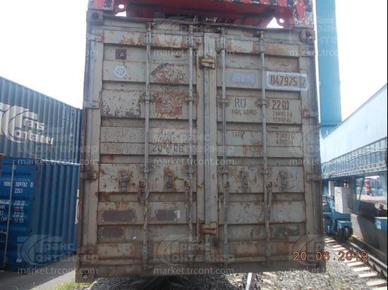 Изображение 20-футовый б/у контейнер №0479757