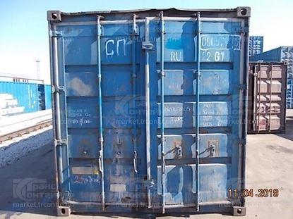 Изображение 20-футовый б/у контейнер №0005790