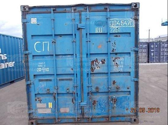 Изображение 20-футовый б/у контейнер №0045473