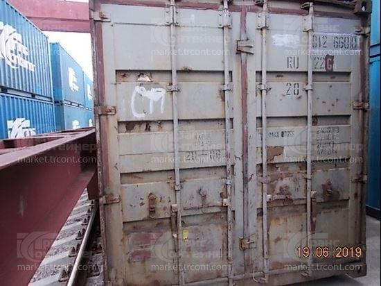 Изображение 20-футовый б/у контейнер №0126600