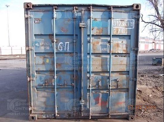 Изображение 20-футовый б/у контейнер №0173638