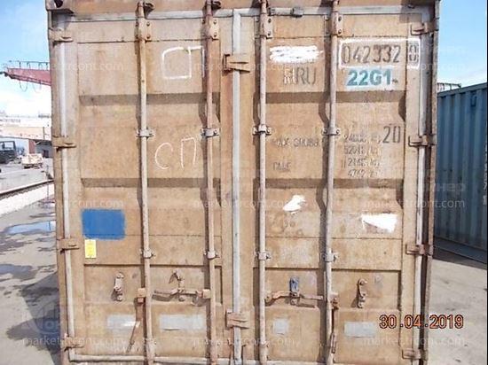 Изображение 20-футовый б/у контейнер №0423320
