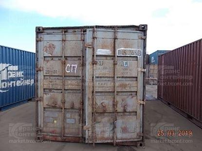 Изображение 20-футовый б/у контейнер №0452653