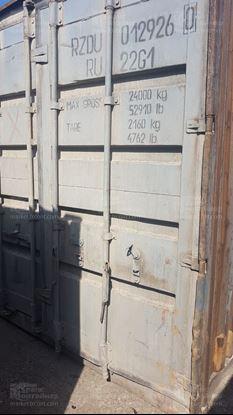 Изображение 20-футовый б/у контейнер №0129260