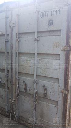 Изображение 20-футовый б/у контейнер №0071111