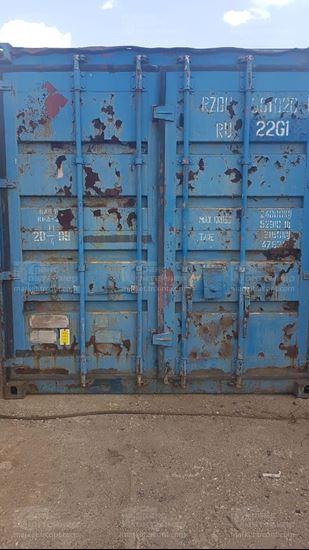 Изображение 20-футовый б/у контейнер №0010203