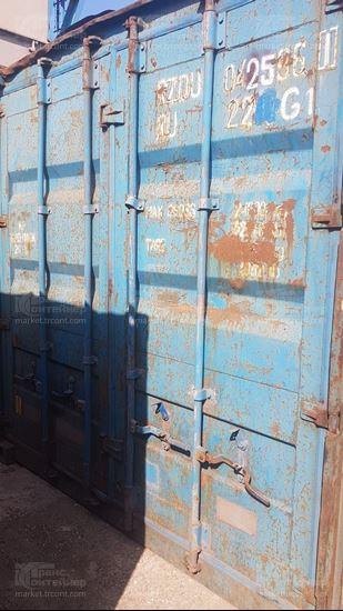 Изображение 20-футовый б/у контейнер №0425961