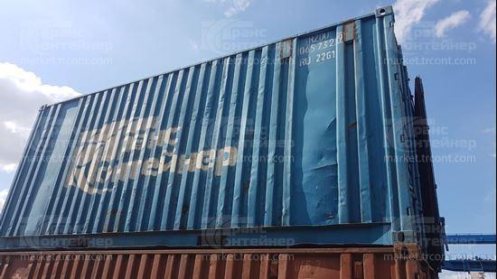 Изображение 20-футовый б/у контейнер №0657329