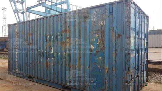 Изображение 20-футовый б/у контейнер №0463391