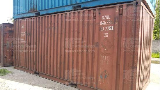 Изображение 20-футовый б/у контейнер №0467289