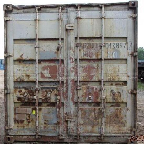 Изображение 20-футовый б/у контейнер №0138977