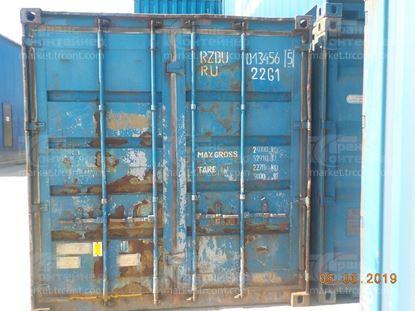 Изображение 20-футовый б/у контейнер №0134565