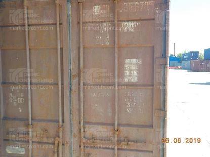 Изображение 20-футовый б/у контейнер №0356705