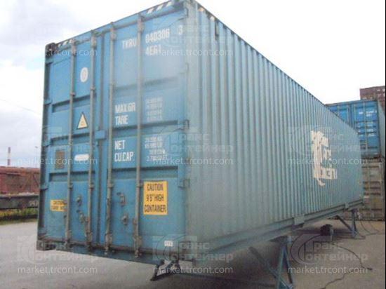 Изображение 40-футовый б/у контейнер №0403063