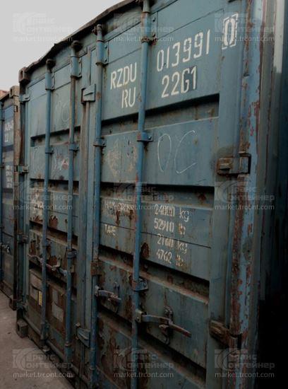 Изображение 20-футовый б/у контейнер №0139910