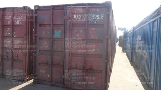 Изображение 20-футовый б/у контейнер №0337916