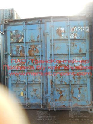 Изображение 20-футовый б/у контейнер №0007175