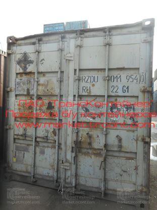 Изображение 20-футовый б/у контейнер №0119540