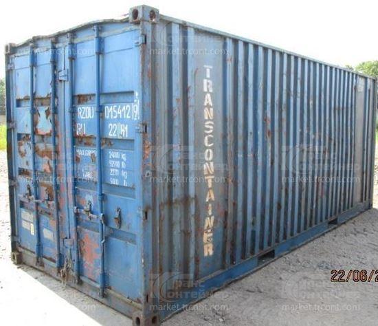 Изображение 20-футовый б/у контейнер №0154129