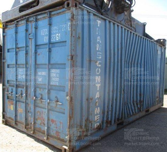 Изображение 20-футовый б/у контейнер №0057200