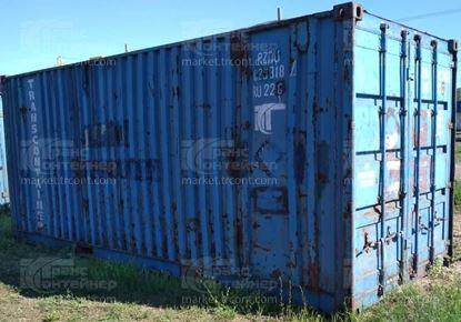 Изображение 20-футовый б/у контейнер №0293187