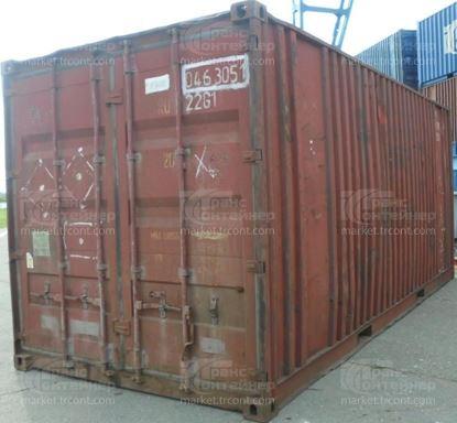 Изображение 20-футовый б/у контейнер №0463051