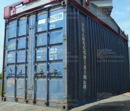 Изображение 20-футовый б/у контейнер №0024697