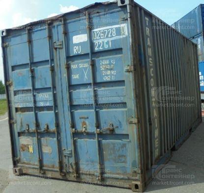 Изображение 20-футовый б/у контейнер №0267280