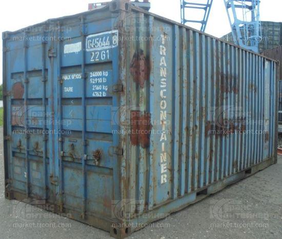 Изображение 20-футовый б/у контейнер №0456448
