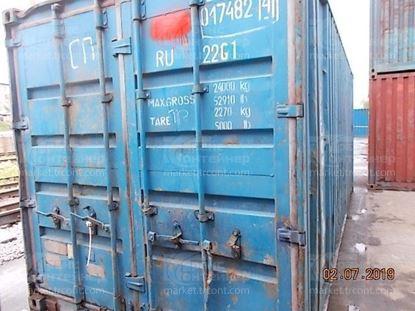Изображение 20-футовый б/у контейнер №0174824