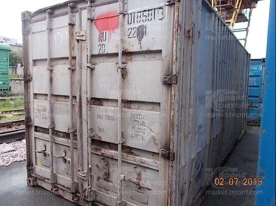 Изображение 20-футовый б/у контейнер №0185813